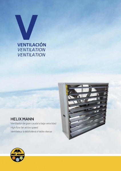High flow wall fans - HELIX MANN