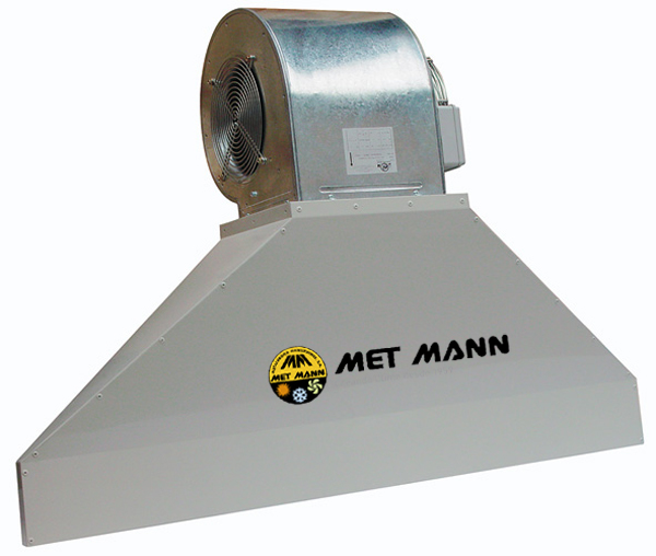 Industrial air curtain - 3,7 to 5,0m high - VIS 40 A