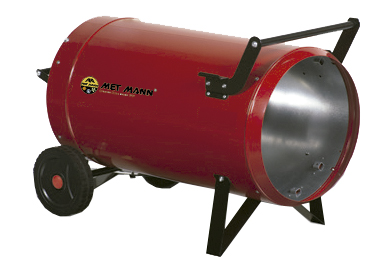 Portable heater with butane or propane gas from 15 to 31 kW - KA-30-A