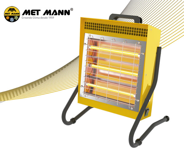 1.5 kW portable infrared heater - INFRA MANN P