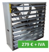 Offer large flow fan of 21. 000 m3/h