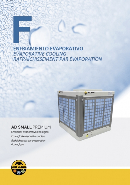 Evaporative air conditioners for industrial buildings - AD SMALL PREMIUM