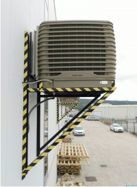 INDUSTRIAL AIR CONDITIONING WITH EVAPORATIVE COOLERS
