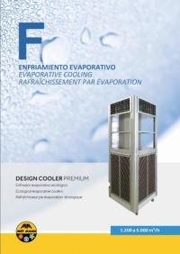 Portable evaporative air conditioners for tents 1.200-5.000 m3/h - DESIGN COOLER PREMIUM