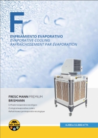 Portable evaporative air coolers 4.200-15.000 m3/h - FRESC MANN PREMIUM