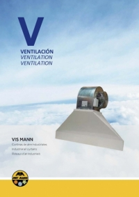 Industrial air curtains - VIS MANN