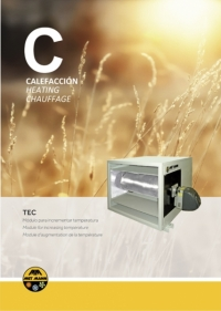 Cabins to increase the air temperature (50 to 145 kW) - TEC