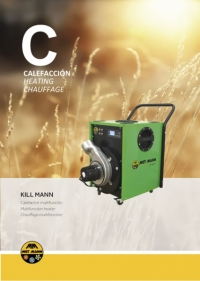 High temperature electric heater from 1.6 to 7.6 kW - KILL MANN