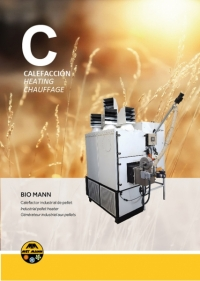 Industrial heating with granulated biomass 43 to 300 kW - BIO MANN
