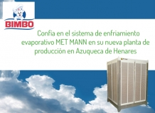 BIMBO relies on evaporative cooling system MET MANN