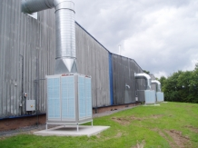 Air conditioning in the plastic sector MET MANN evaporative air conditioners