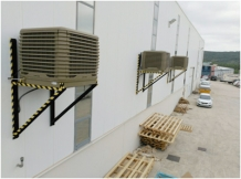 industrial air conditioning with evaporative coolers MET MANN