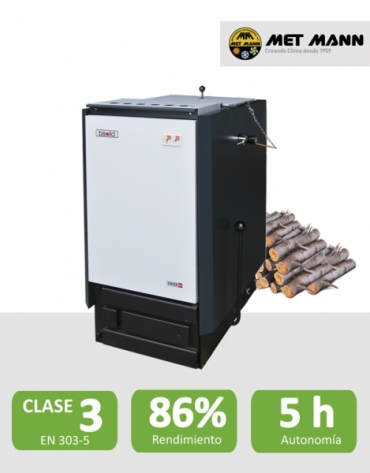 Wood boilers of 25-35-45 kW - KNOW WOOD