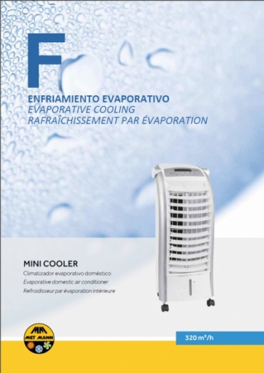 Evaporative air conditioner 320 m3 / h - MINI COOLER
