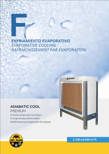 Module adiabatique 2.100-8.000 m3/h - ADIABATIC COOL PREMIUM