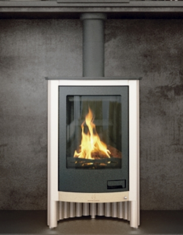 Domestic firewood stoves 11-21 kW - DESIGN FLAMME