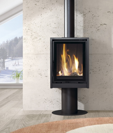 Wood burning stoves with fan - RF 200