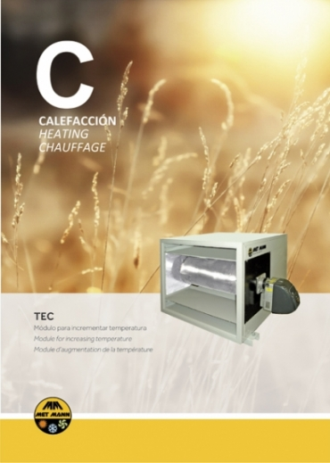 Cabins to increase the air temperature from 50 to 145 kW - TEC