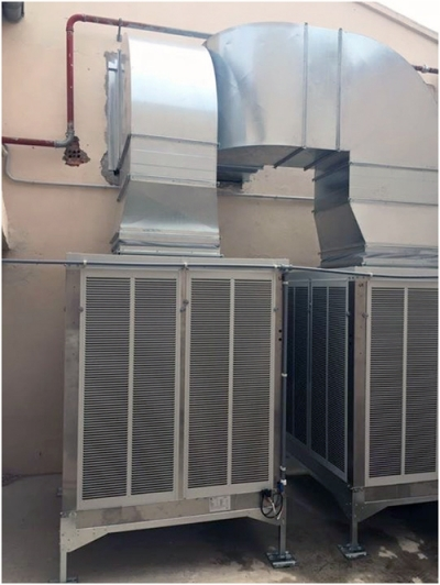 EVAPORATIVE COOLERS IN FOOD INDUSTRY