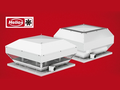 Helios roof ventilation systems - German quality for industrial ventilation