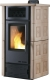 Hot air pellet stove channeled for 140m2 wood ceramic - PELLET AIRE 15 C