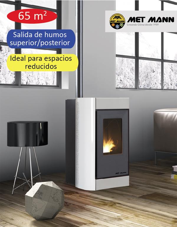Estufas de pellet pellet aire 6 climatizaci n y - Estufas de pellets de aire ...