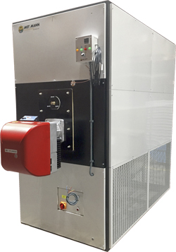 generador de aire caliente MET MANN
