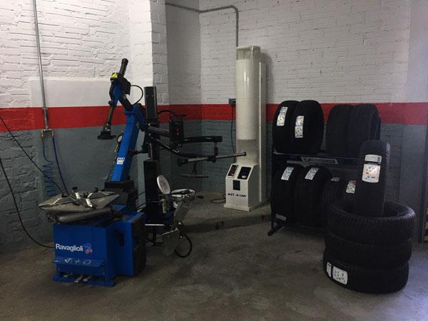 calefaccion taller de automoción